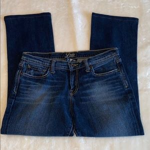 Lucky Brand Jeans 6 / 28 cropped Capri